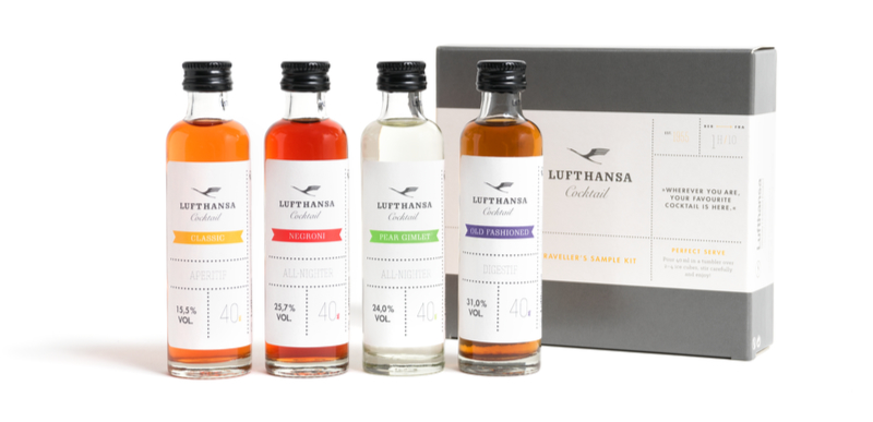 Lufthansa Cocktail Traveller Kit